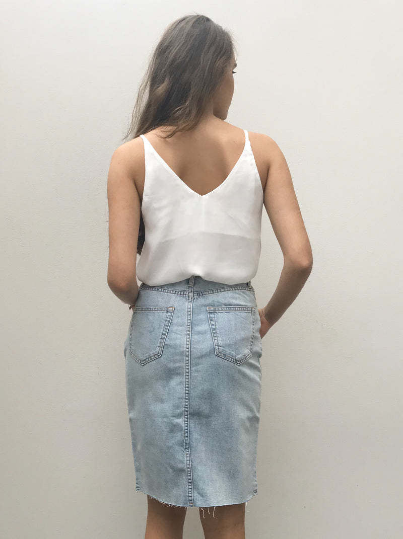 Adele Denim Skirt