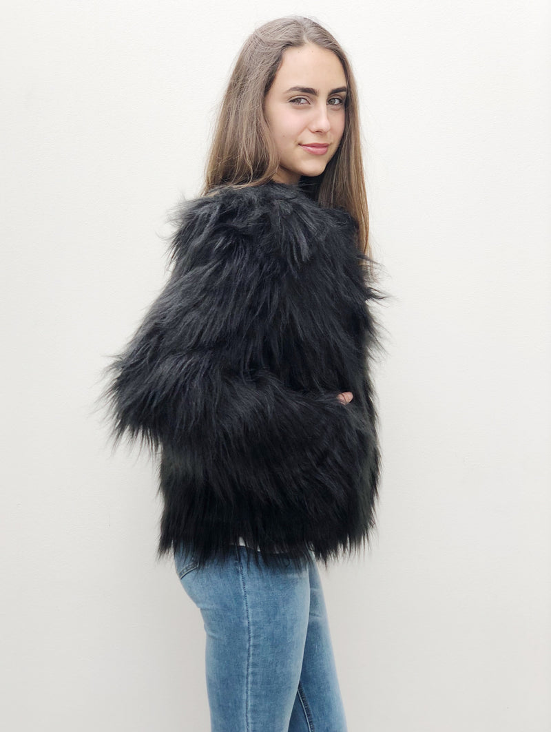 Roza Faux Fur Jacket