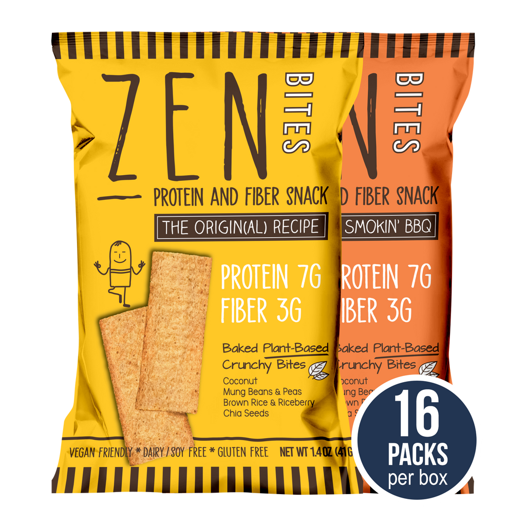 ZenBites Combo (Box of 16 Regular Packs, 41g / pack)