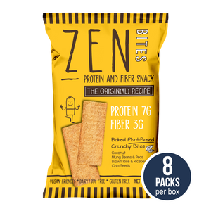 ZenBites The Origin(al) Recipe (Box of 8 Regular Packs, 41g / pack)
