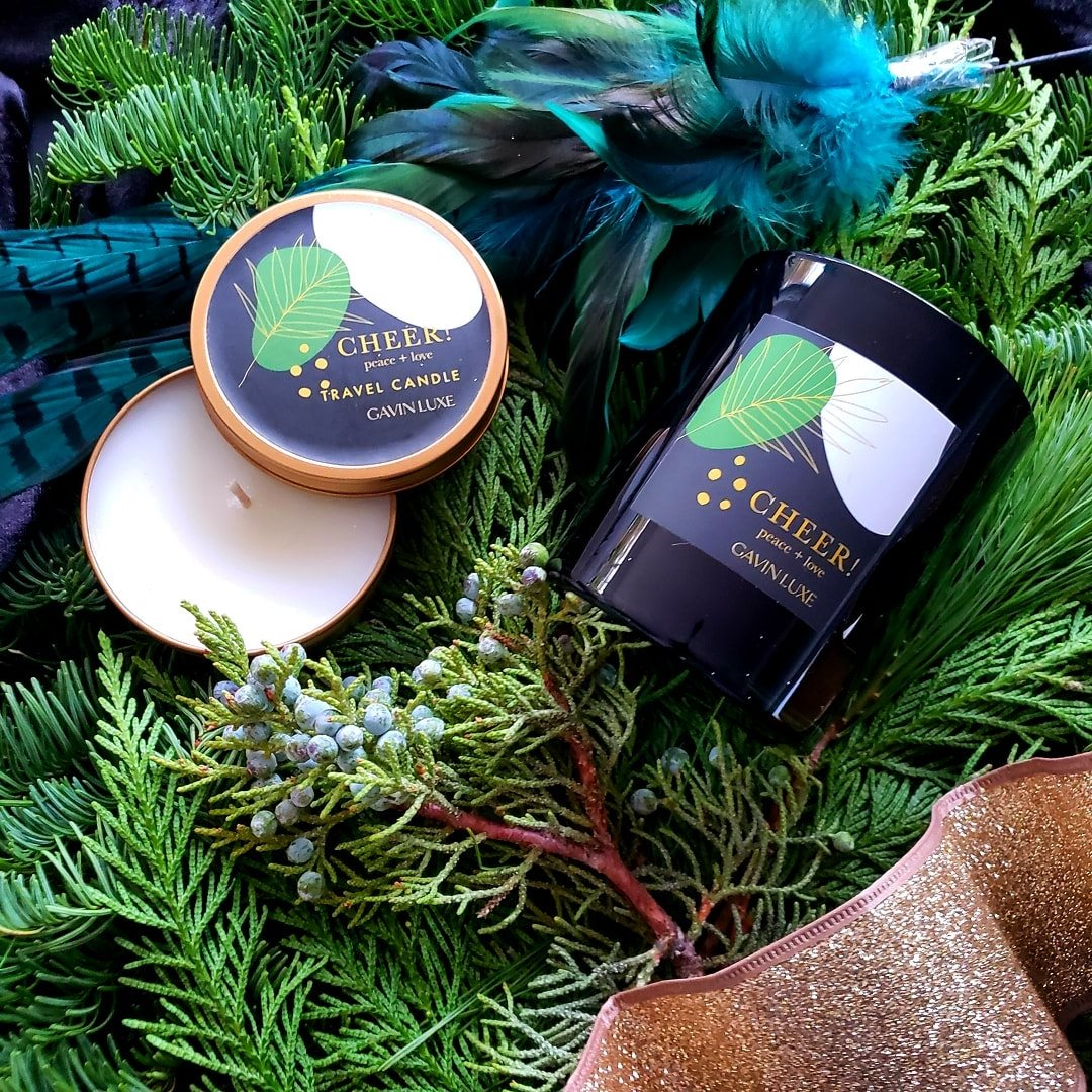 Gavin Luxe Cheer! Holiday Candle