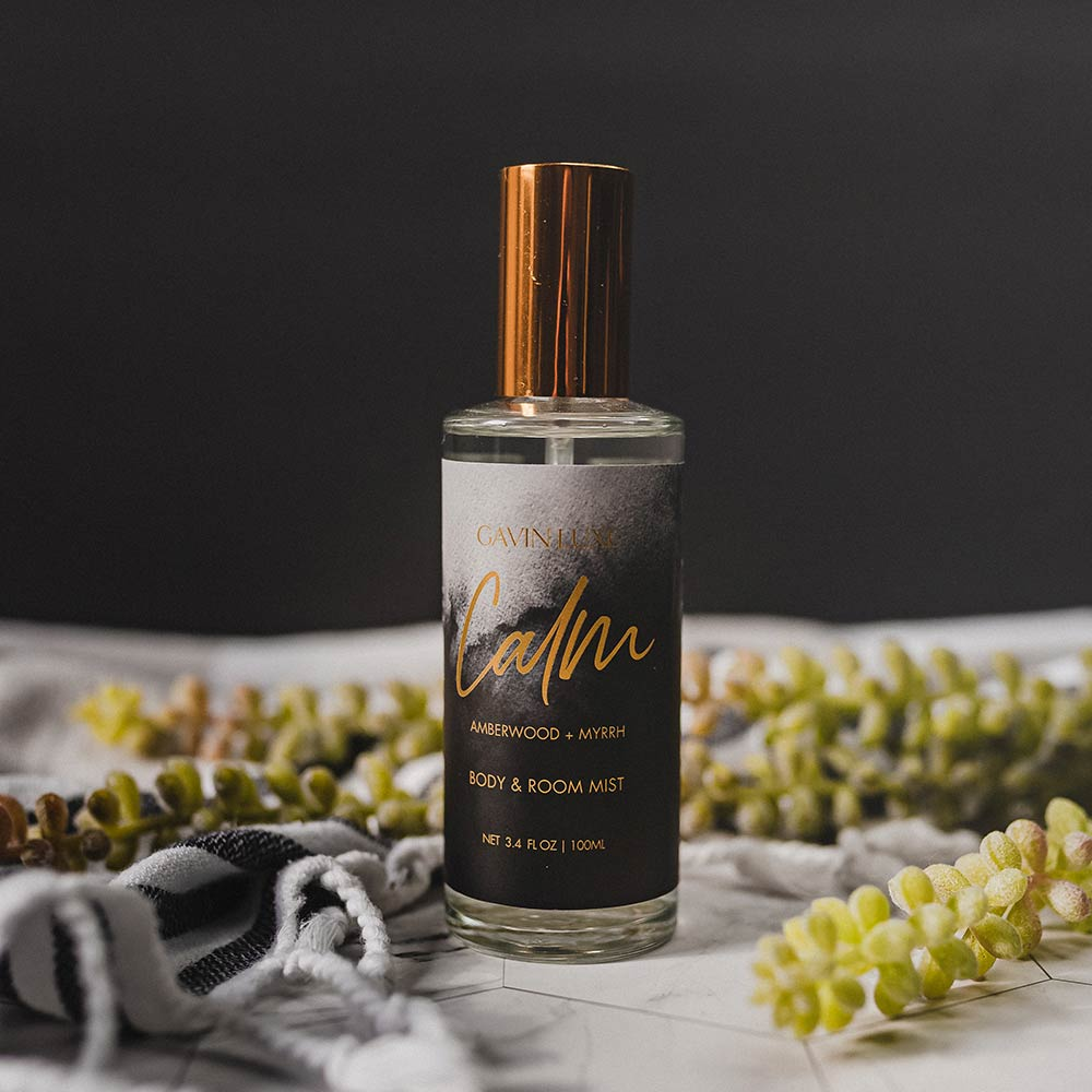 Calm - Amberwood + Myrrh Body & Room Mist