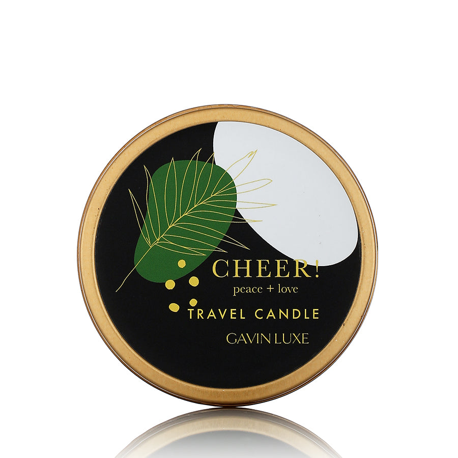 Cheer Holiday Travel Candle