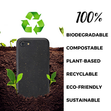 Biodegradable phone case - Black