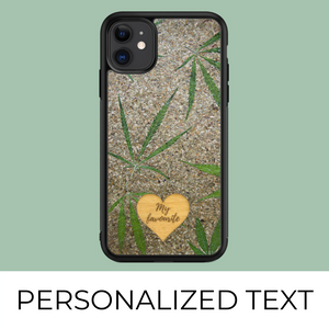 Hemp - Personalized phone case - Personalized gift