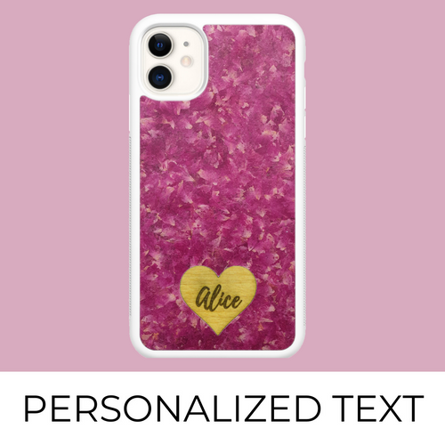 Roses - Personalized phone case - Personalized gift