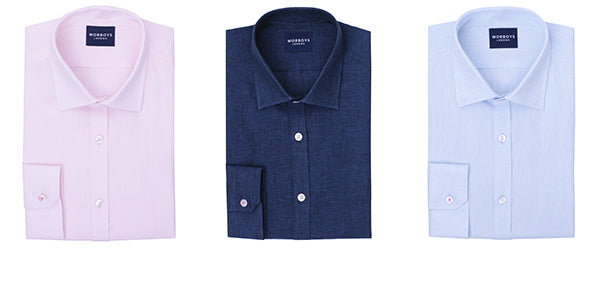 Linen shirt collection