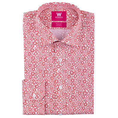 Casablanca - Kasbah Red - Floral Shirt