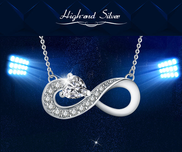 Necklace Customize Infinity Love for Women