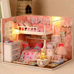 Handmade Miniature Doll House, DIY 7