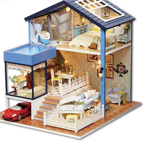 Miniature Doll House DIY 1