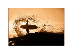 Joao de Carvalho - Sunset Spray - mycanvasphoto