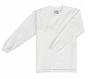 Pro Club Long Sleeve White