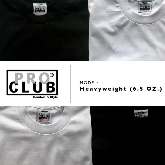 Pro Club | Heavyweight (6.5 oz) Short Sleeve