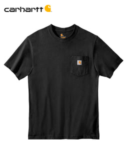 Carhartt Poket Short Sleeve Black