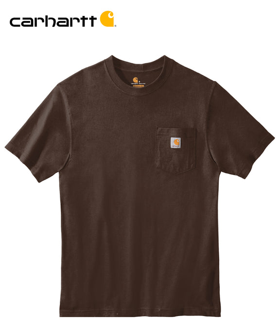 Carhartt Poket Short Sleeve Brown