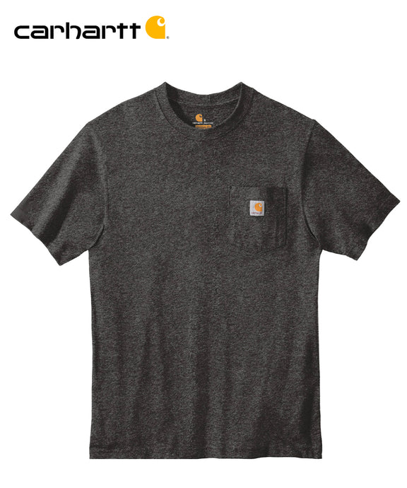 Carhartt Poket Short Sleeve Carbon Heather