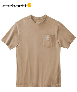 Carhartt Poket Short Sleeve Desert