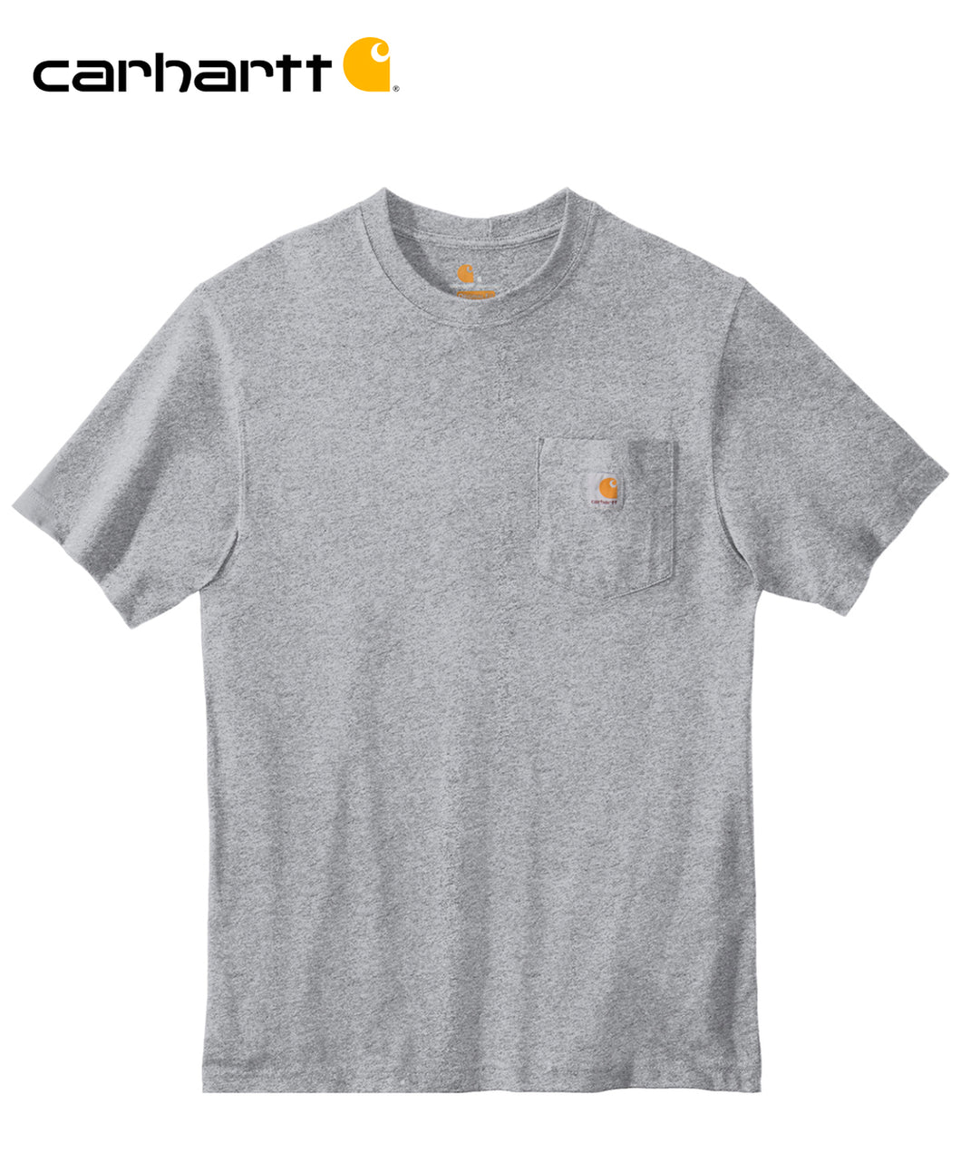 Carhartt Poket Short Sleeve Grey