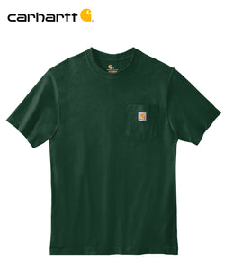 Carhartt Poket Short Sleeve Hunter Green