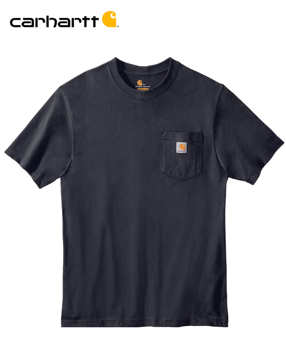 Carhartt Poket Short Sleeve Navy