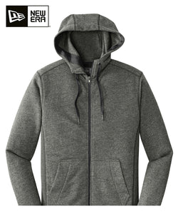 New Era Zip Hoodie Black Twist