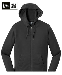 New Era Zip Hoodie Black