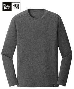 New Era Long Sleeve Black Heather