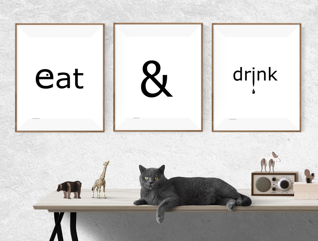 eat & drink - posters