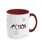 Love in action christmas mug