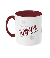 Two Tone Christmas Mugs
