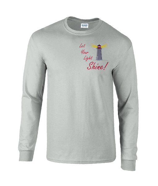 Light Shine - Gents Long Sleeve T-Shirt (Ultra Cotton)