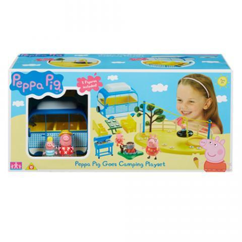 Peppa Pig Goes Camping Playset