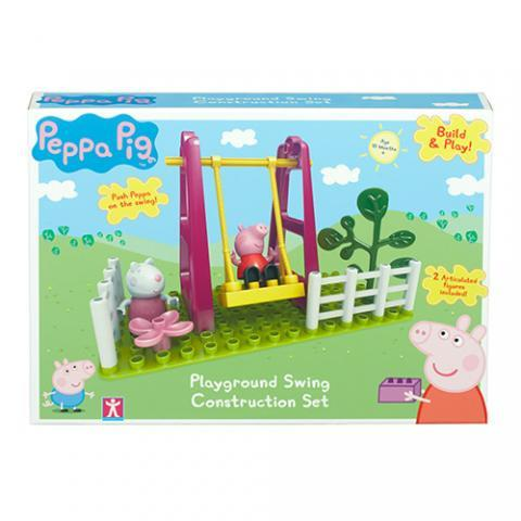 Peppa Pig Construction - Playground Swing