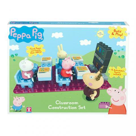 Peppa Pig Construction - Classroom