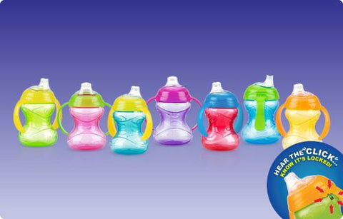 Nuby HK Clik-it Grip N Sip Cup 240ml