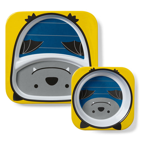 Skip Hop Zoo Melamine Set- Bat