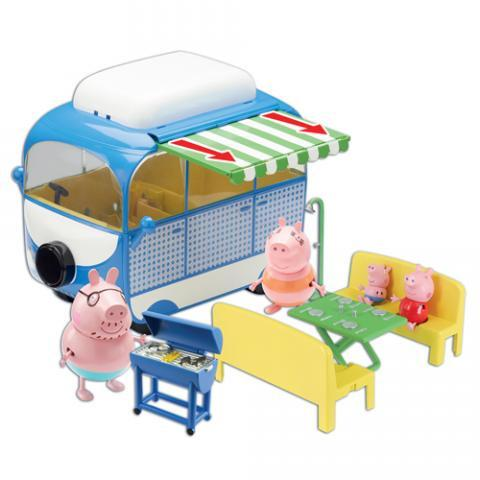 Peppa Pig Holiday Camper Van Playset