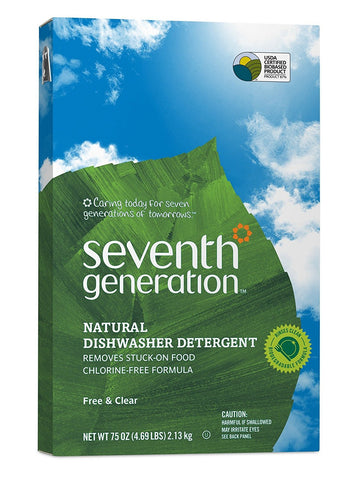Seventh Generation Automatic Dishwasher Powder 75oz
