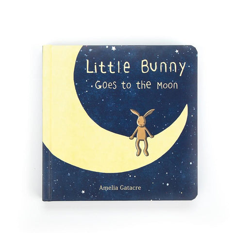 英国Jellycat HK Sale Little Bunny Goes To The Moon Book