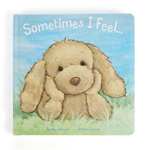 英国Jellycat 香港毛公仔優惠 Sometimes I Feel Book