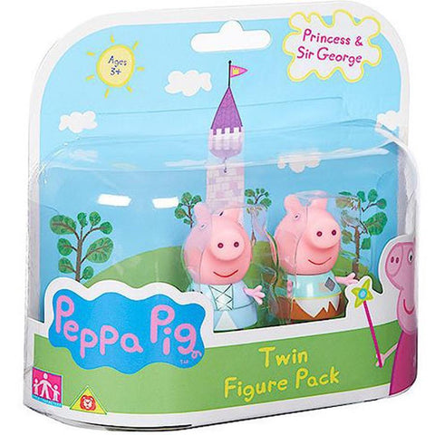 Peppa Pig Princess Twin Figures Pack