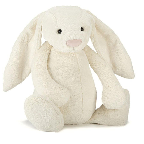 英国Jellycat 香港毛公仔優惠 Bashful Cream bunny Large