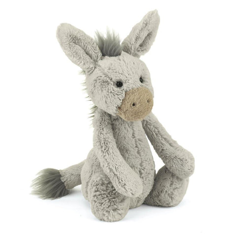 英国Jellycat 香港毛公仔優惠 Bashful Donkey Medium