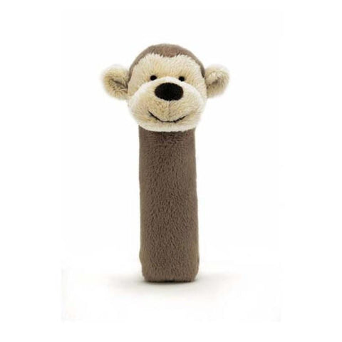 英国Jellycat 香港毛公仔優惠 Bashful Monkey Squeaker Toy