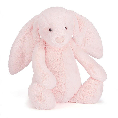 英国Jellycat 香港毛公仔優惠 Bashful Pink Bunny Medium