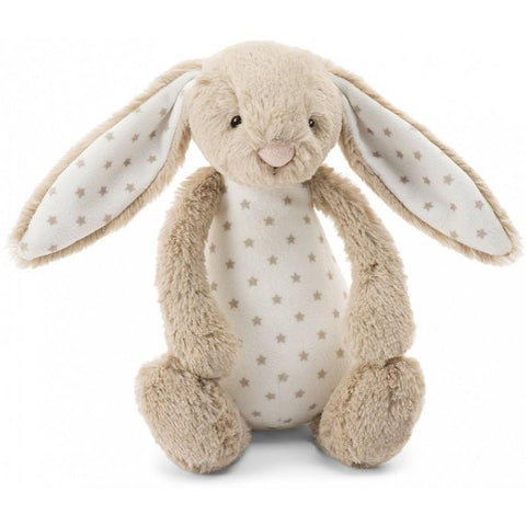 英国Jellycat 香港毛公仔優惠 Starry Bunny Rattle Small 18 cm