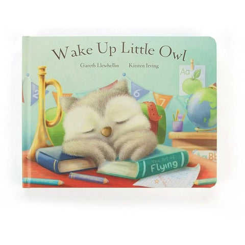 英国Jellycat 香港毛公仔優惠 Wake Up Little Owl Book