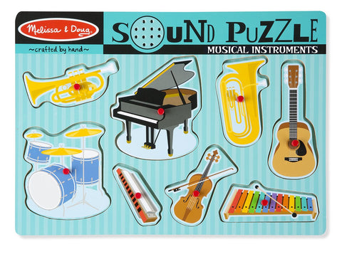 Melissa & Doug HK Sale Musical Sound Puzzle