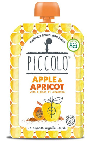 Piccolo Apple & Appricot with a pinch of cinnamon (Stage 1 - 100g )
